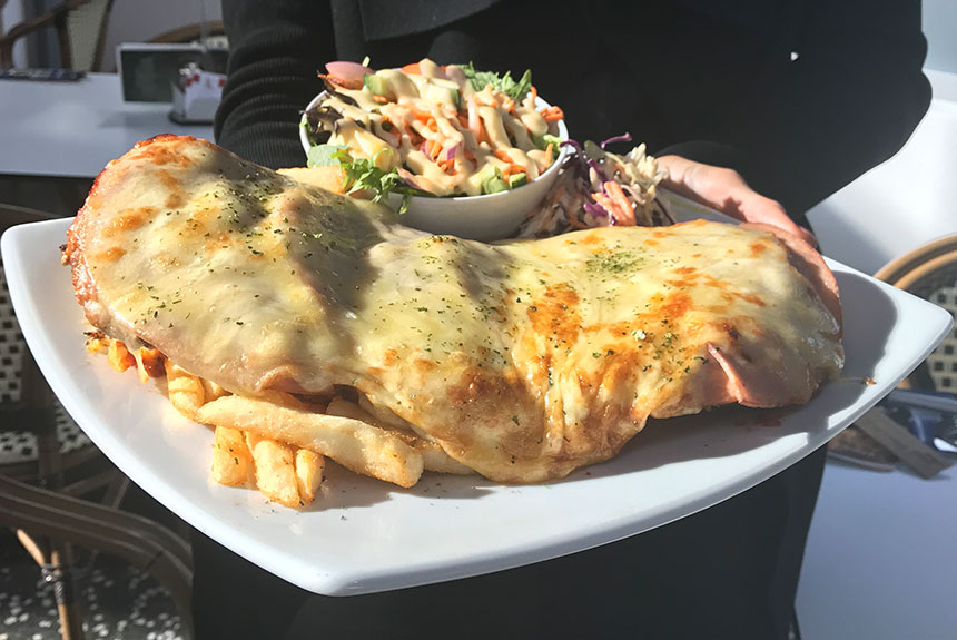1kg Parmy at Newtown Hotel