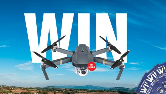 Dine for your chance to win a drone!