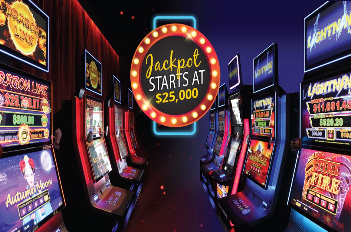 Newtown Hotel Gaming Jackpot