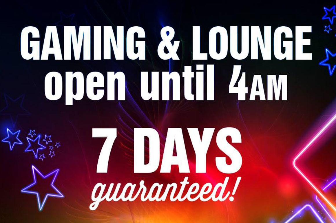 Newtown Hotel Gaming until 4am