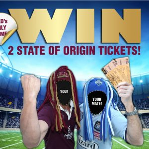 WIN State of Origin tickets at Newtown Hotel