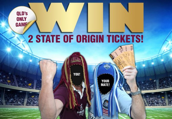 WIN State of Origin Tickets!