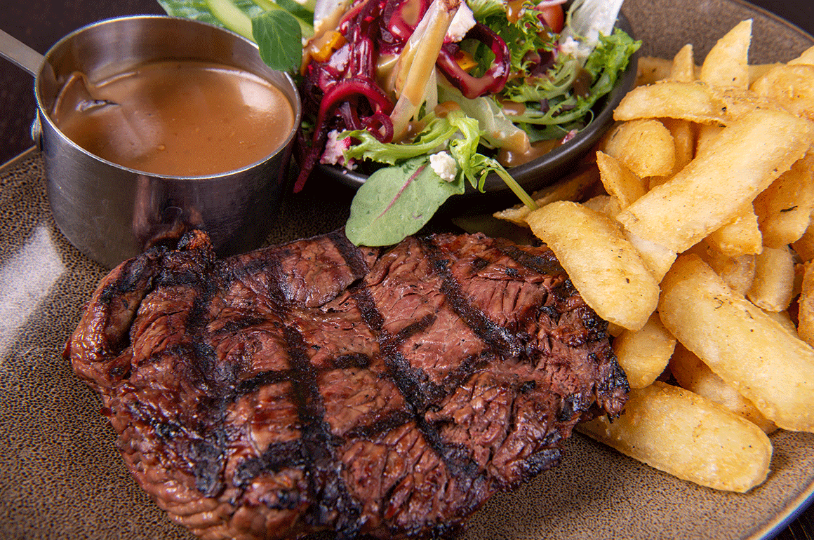 Newtown Steak Menu