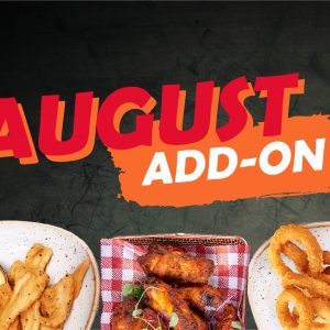 Add-On August Promotion at Newtown Hotel