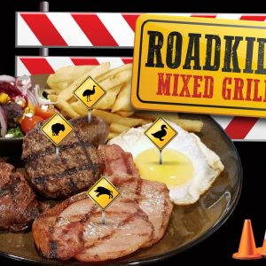 September Roadkill Mixed Grill at Newtown Hotel